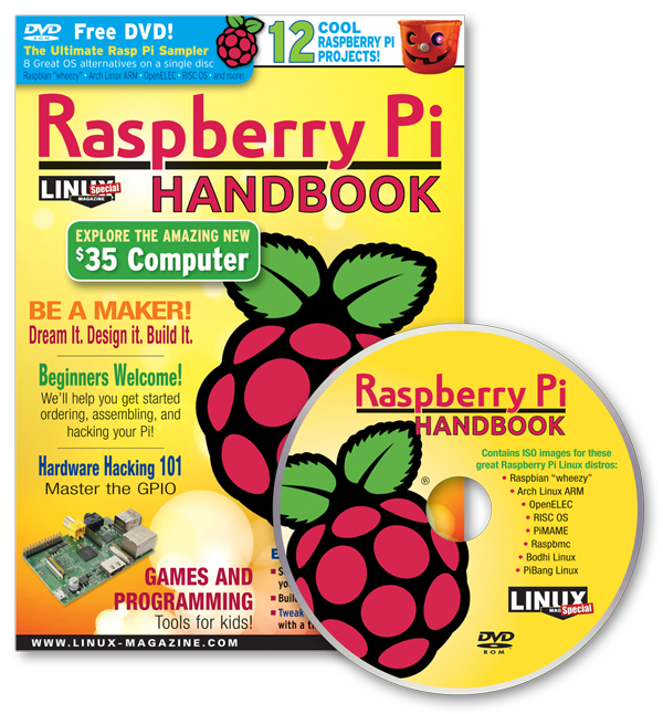 Raspberry Pi Handbook and DVD