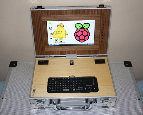A DIY Raspberry Pi Netbook