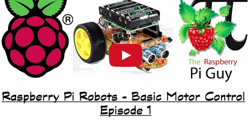 Learn About Basic Motor Controls For Raspberry Pi Robots In This Tutorials
