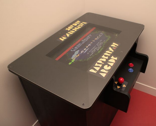 A Raspberry Pi Arcade Table